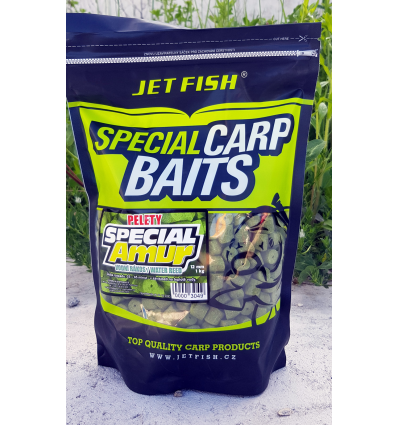 Jet Fish Amur pellet 1kg 12mm